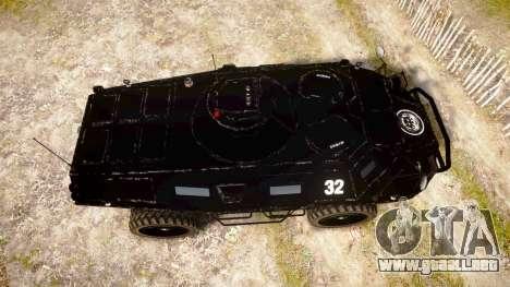 New APC para GTA 4 visión correcta