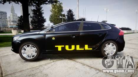 Volvo V40 Swedish TULL [ELS] para GTA 4 left