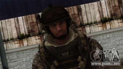 Modern Warfare 2 Skin 7 para GTA San Andreas tercera pantalla