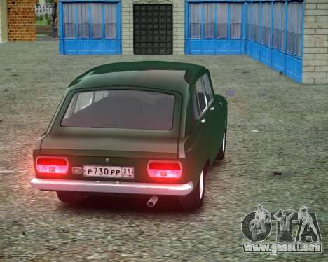 IZH 2125 Combi para GTA 4 visión correcta