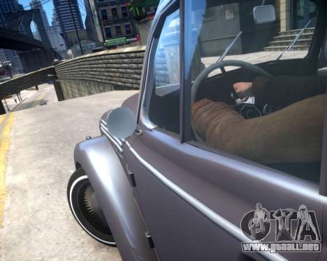 Moskvich 400 para GTA 4 vista lateral