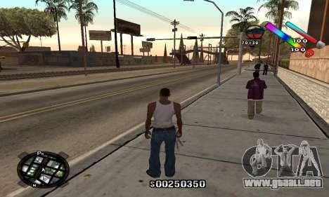 C-HUD Classic para GTA San Andreas