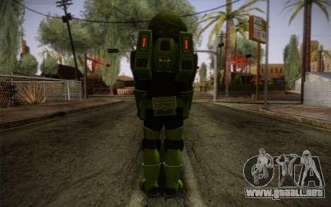 Space Ranger from GTA 5 v1 para GTA San Andreas segunda pantalla
