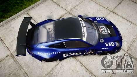 RUF RGT-8 GT3 [RIV] EXO para GTA 4 visión correcta