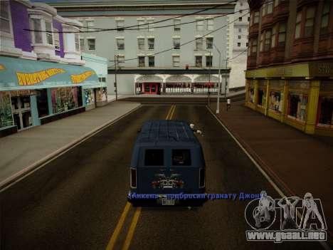 Sistema de robos v4.0 para GTA San Andreas twelth pantalla
