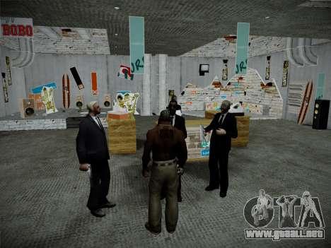 Sistema de robos v4.0 para GTA San Andreas novena de pantalla