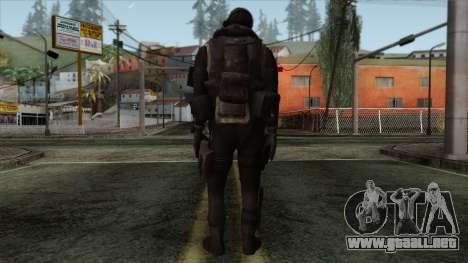 Modern Warfare 2 Skin 14 para GTA San Andreas segunda pantalla