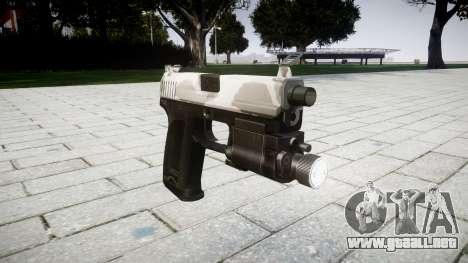 La pistola HK USP 45 yukon para GTA 4