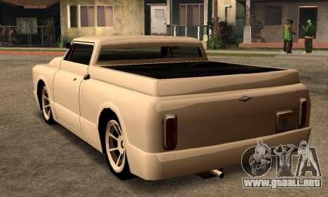 Beta Slamvan para la visión correcta GTA San Andreas