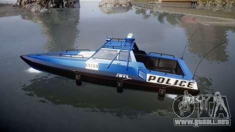 GTA V Police Predator para GTA 4 left