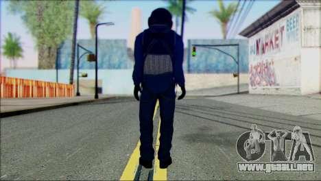 Chinese Pilot from Battlefiled 4 para GTA San Andreas segunda pantalla