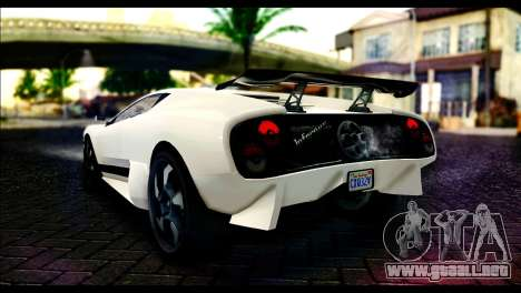 GTA 5 Pegassi Infernus para GTA San Andreas left