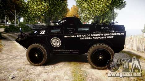 New APC para GTA 4 left