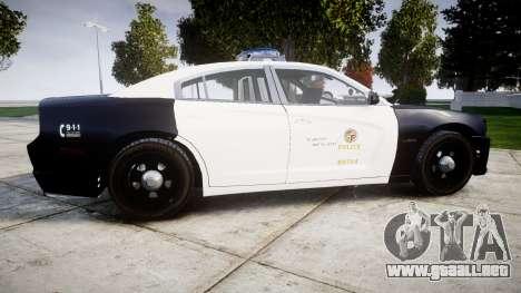 Dodge Charger 2013 LAPD [ELS] para GTA 4 left