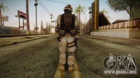 Army Skin 1 para GTA San Andreas segunda pantalla