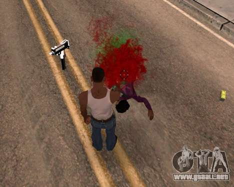 Freaky efectos para GTA San Andreas tercera pantalla