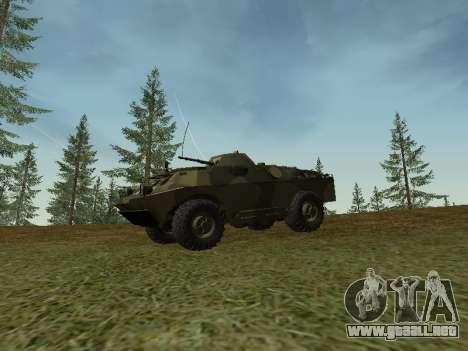 BRDM 2 para GTA San Andreas left