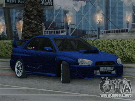 Subaru impreza WRX STI 2004 para la visión correcta GTA San Andreas