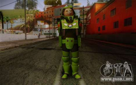 Space Ranger from GTA 5 v1 para GTA San Andreas