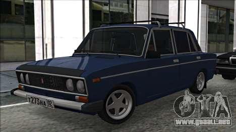 ВАЗ 2106 estilo ruso 2.0 para GTA San Andreas left