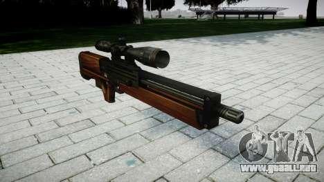 Rifle de francotirador Walther WA 2000 para GTA 4