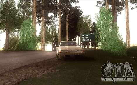 El renacimiento de la aldea Dillimore para GTA San Andreas décimo de pantalla