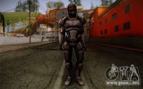 Shepard Default N7 from Mass Effect 3 para GTA San Andreas