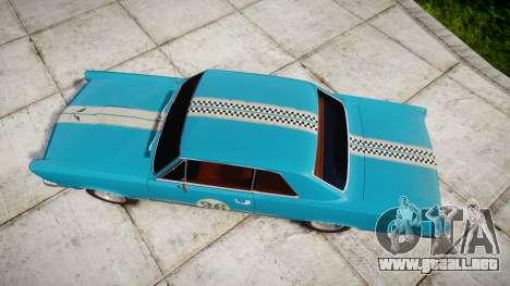 Pontiac GTO 1965 victory cars para GTA 4 visión correcta