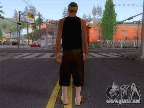 New Ballas Skin 2 para GTA San Andreas segunda pantalla