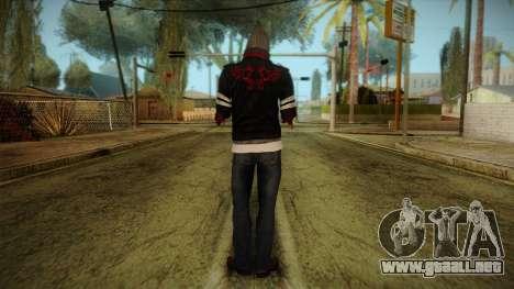 Alex Cutted Arms from Prototype 2 para GTA San Andreas segunda pantalla