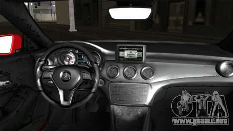 Mercedes-Benz CLA 250 2014 para GTA San Andreas vista posterior izquierda