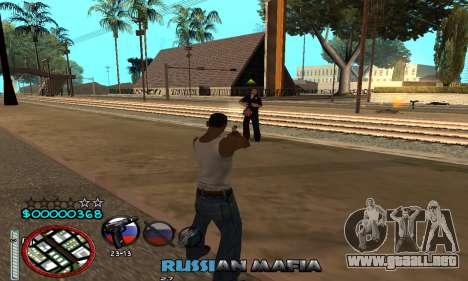 C-HUD Russian Mafia para GTA San Andreas sucesivamente de pantalla