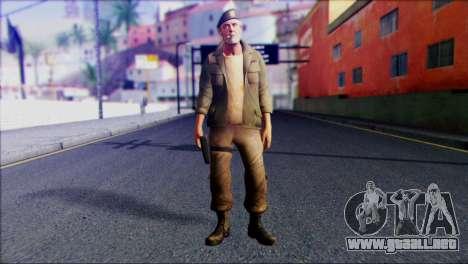 Left 4 Dead Survivor 4 para GTA San Andreas