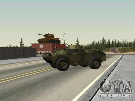 BRDM 2 para la visión correcta GTA San Andreas