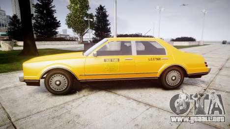 Albany Esperanto Taxi para GTA 4 left