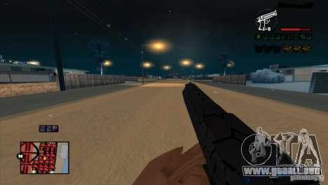 C-HUD Brendi para GTA San Andreas segunda pantalla
