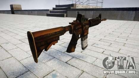 Tácticas de asalto M4 rifle para GTA 4 segundos de pantalla