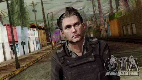 Modern Warfare 2 Skin 21 para GTA San Andreas tercera pantalla