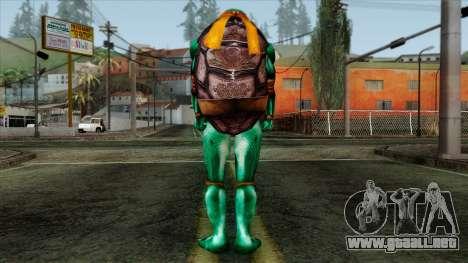 Mike (Las Tortugas Ninja) para GTA San Andreas segunda pantalla