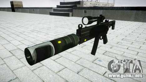 Táctica subametralladora MP5 destino para GTA 4