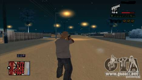 C-HUD Brendi para GTA San Andreas sucesivamente de pantalla