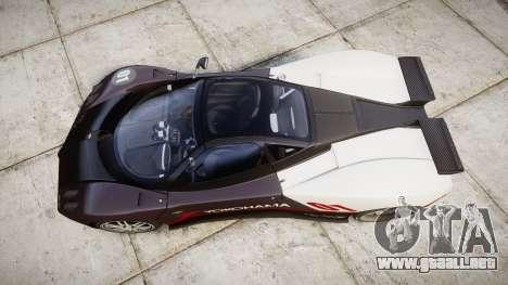 Pagani Zonda C12 S 7.3 2002 PJ3 para GTA 4 visión correcta