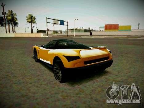 Cheetah из GTA 5 para GTA San Andreas left