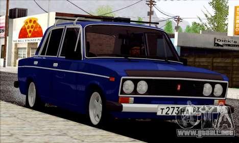 ВАЗ 2106 estilo ruso para GTA San Andreas