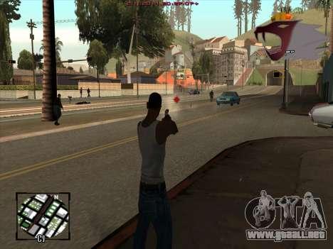 C-HUD Army para GTA San Andreas segunda pantalla