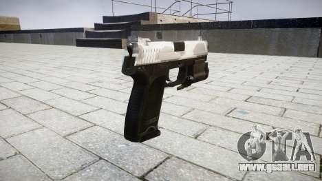La pistola HK USP 45 yukon para GTA 4 segundos de pantalla