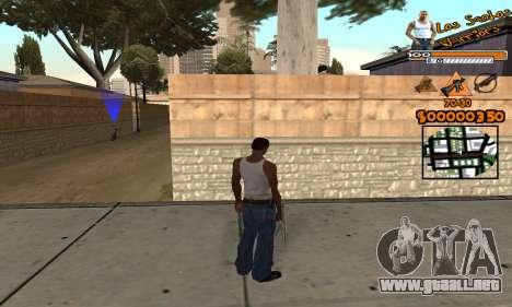 C-HUD LSW para GTA San Andreas segunda pantalla