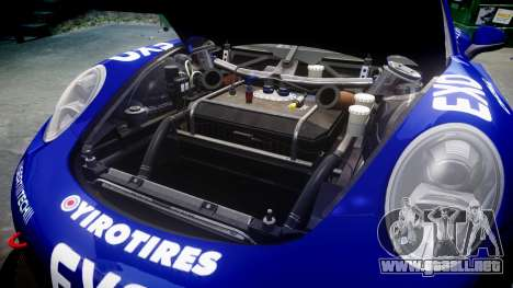 RUF RGT-8 GT3 [RIV] EXO para GTA 4 vista interior