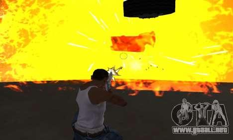 Yellow Effects para GTA San Andreas sucesivamente de pantalla