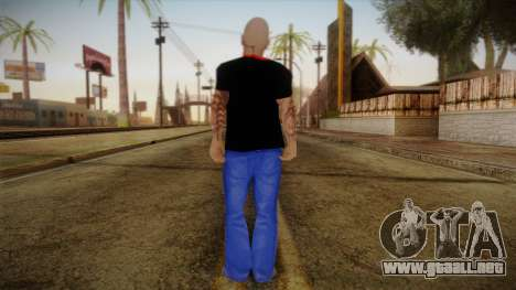 Phil Anselmo Skin para GTA San Andreas segunda pantalla